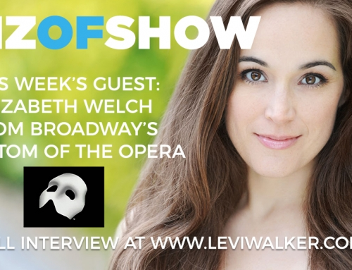Biz of Show – Episode 3 – Backstage @ Phantom Broadway with Elizabeth Welch