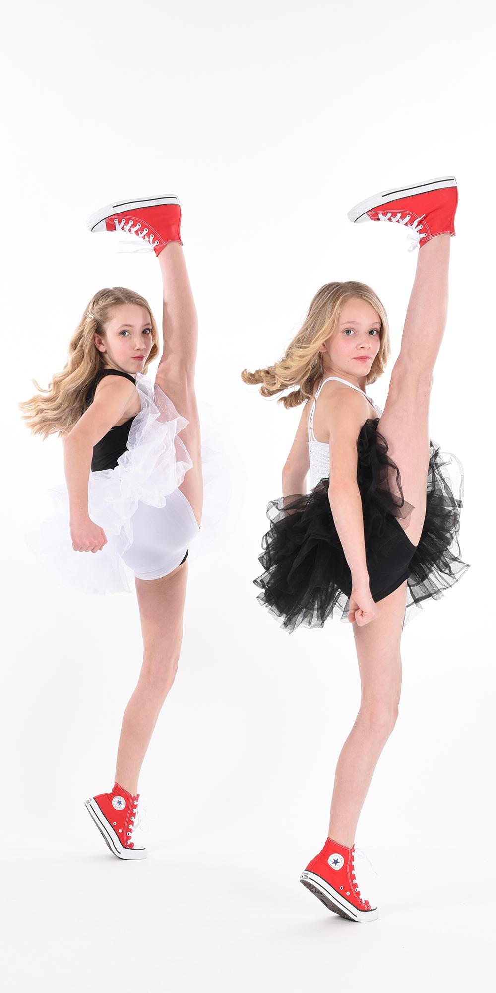 Sisters Kicking